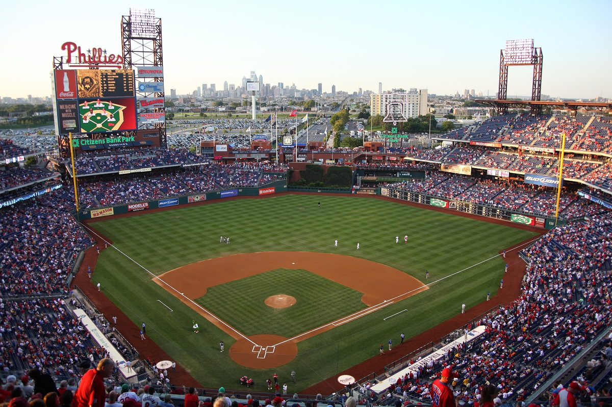 Aerial View of Citizens Bank Park