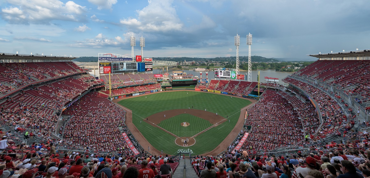 Great American Ball Park Home of the Reds