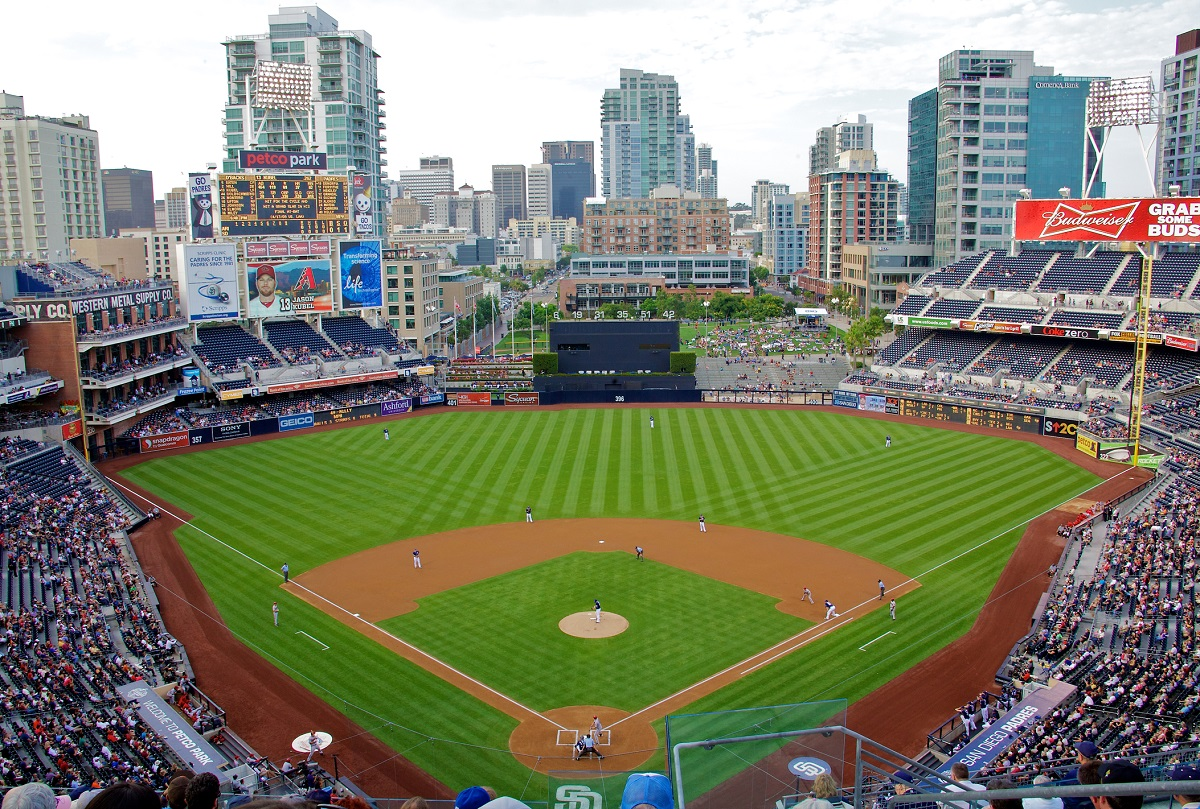Petco Park home of the Padres