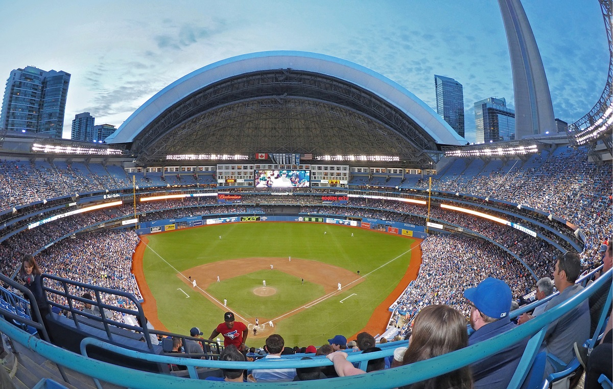 Rogers Centre Aerial View