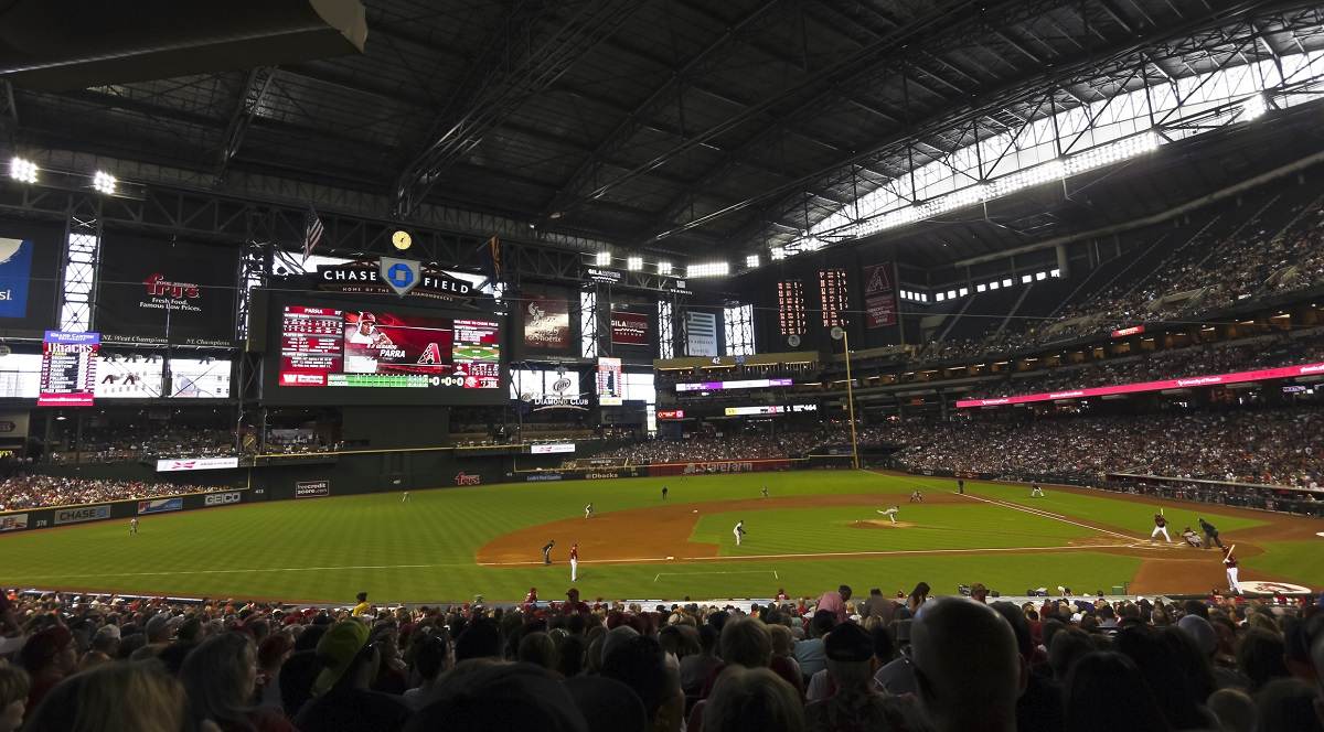 A Diamondbacks Giants Game at Chase Field