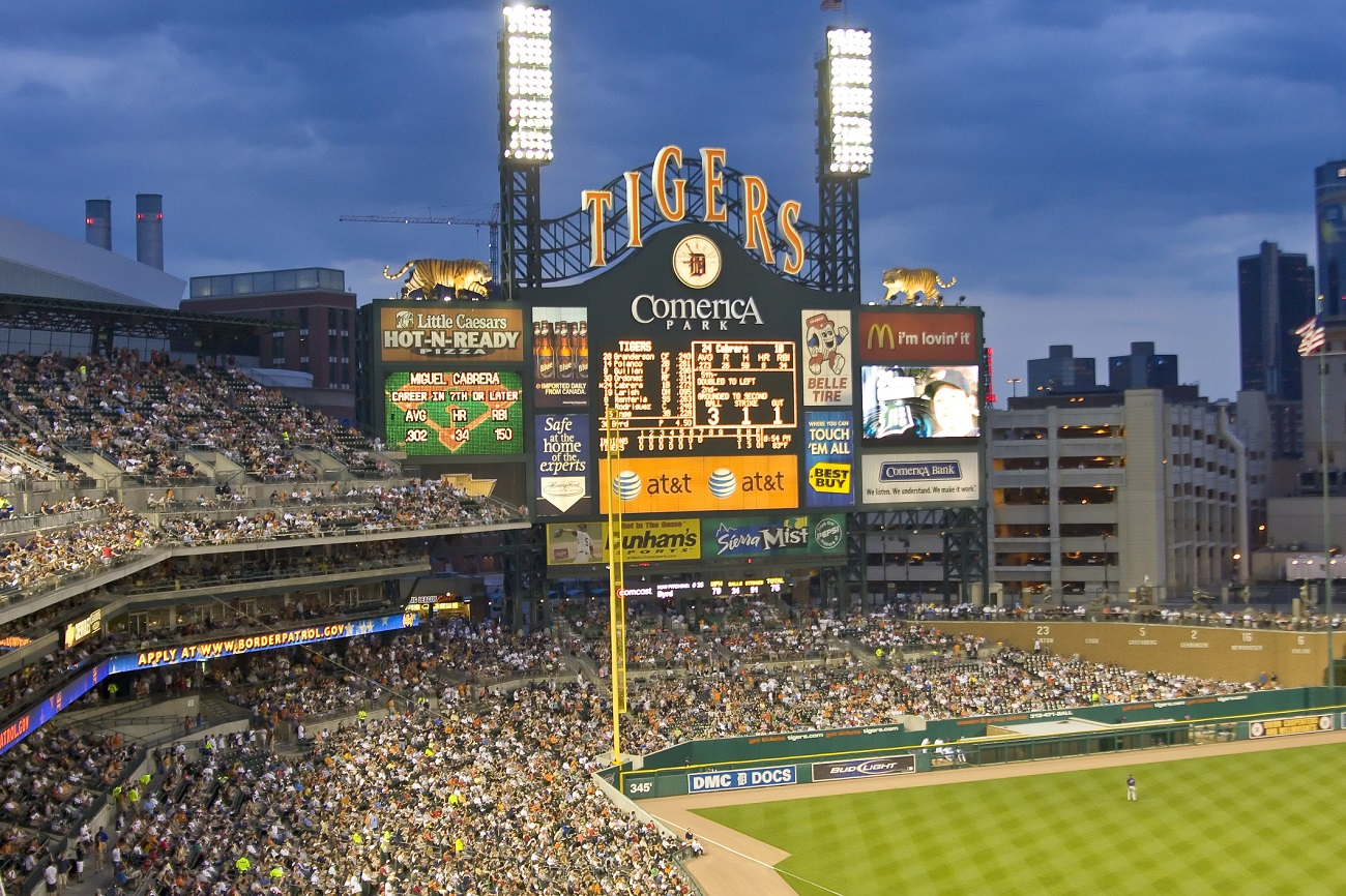 Detroit Tigers Scorecard