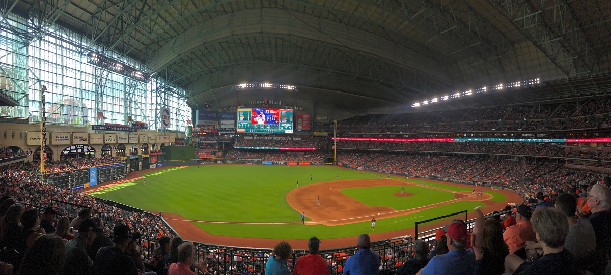 Minute Maid Park Panoramic View Houston Astros
