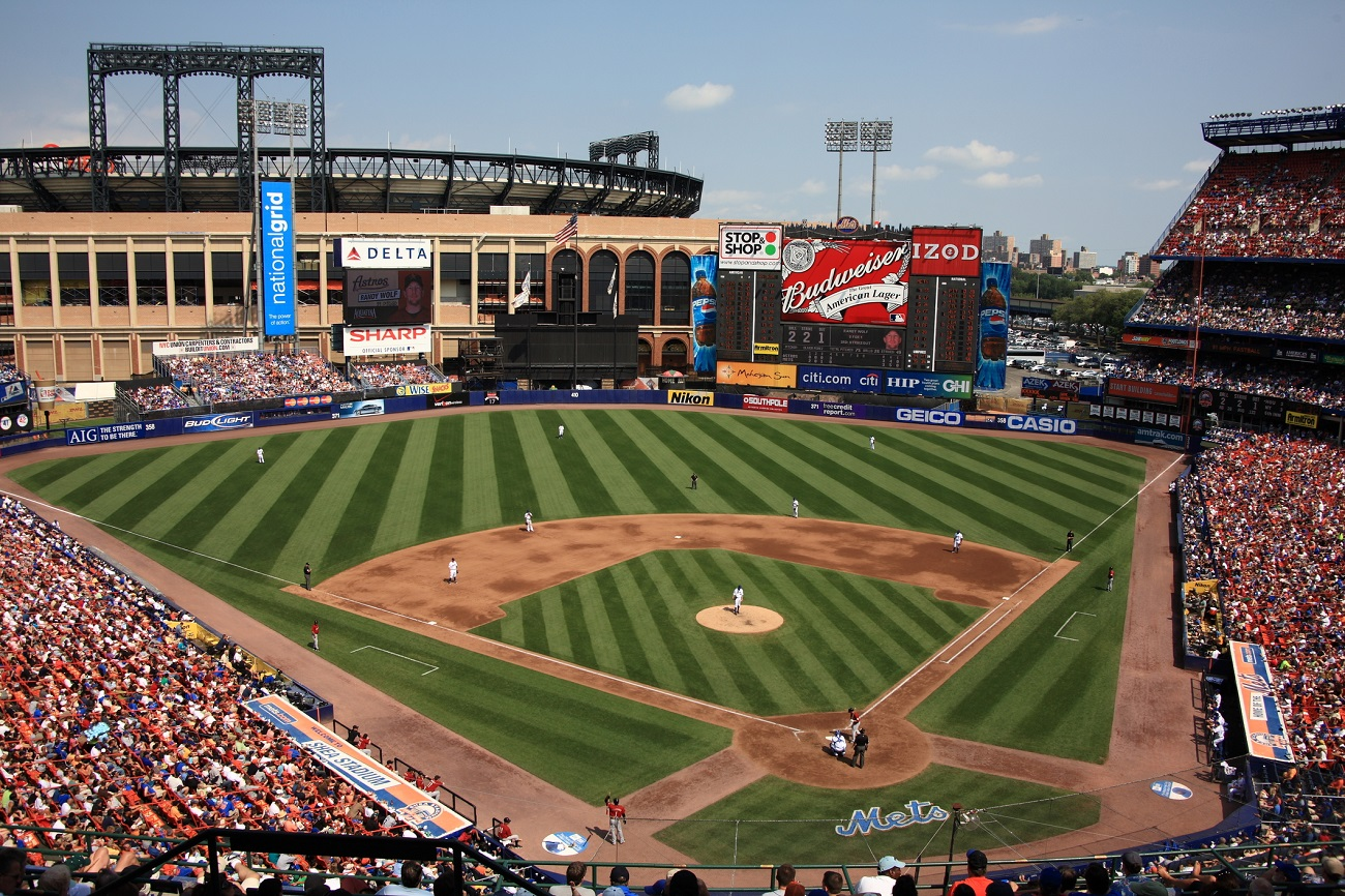 Old Mets Stadium with Citi Field in the Distance