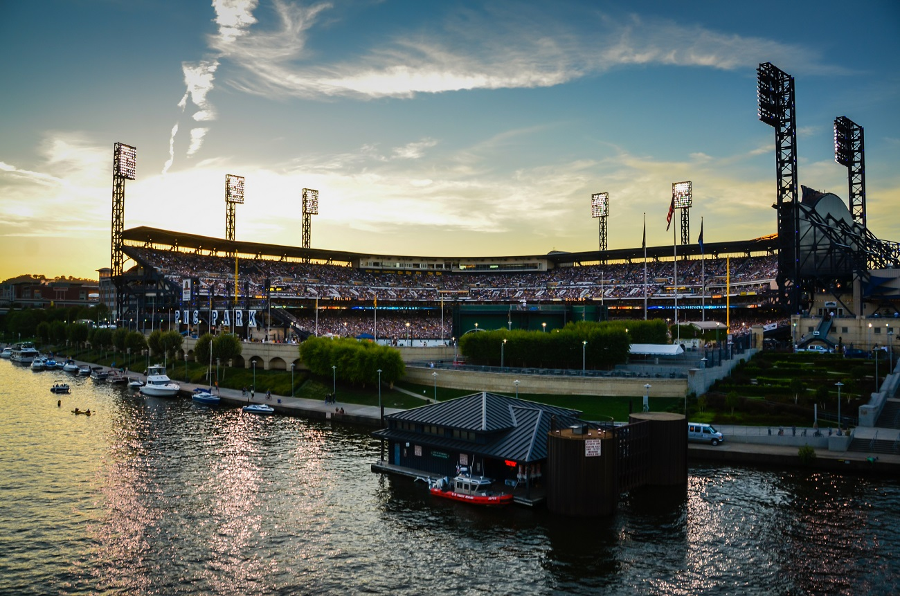 PNC Park from the Water