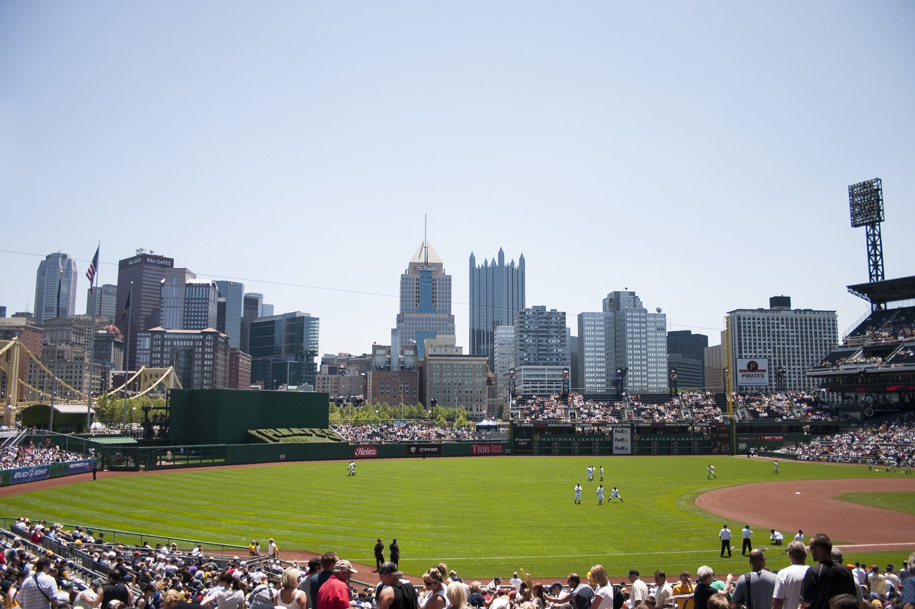 PNC Park Looking over the City