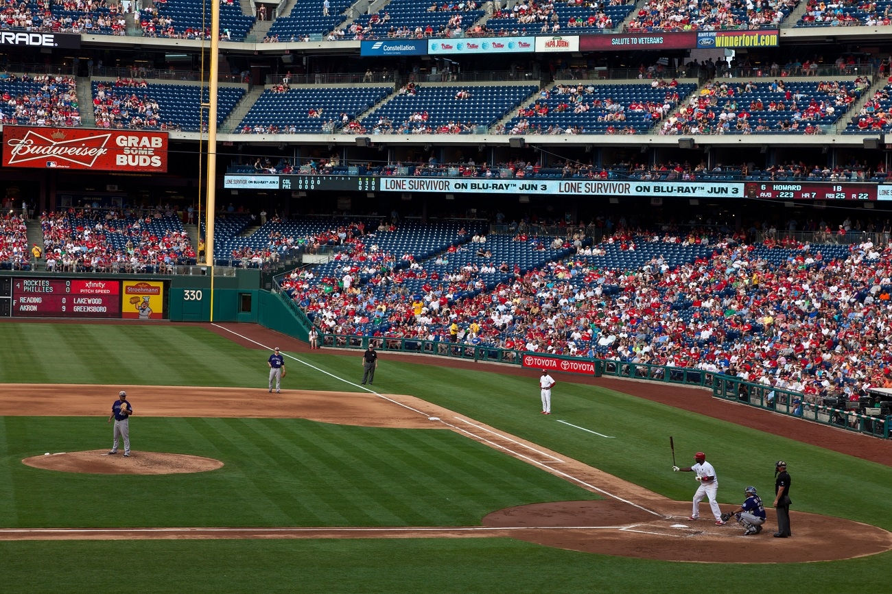 Ryan Howard Batting at Citizens Bank Park