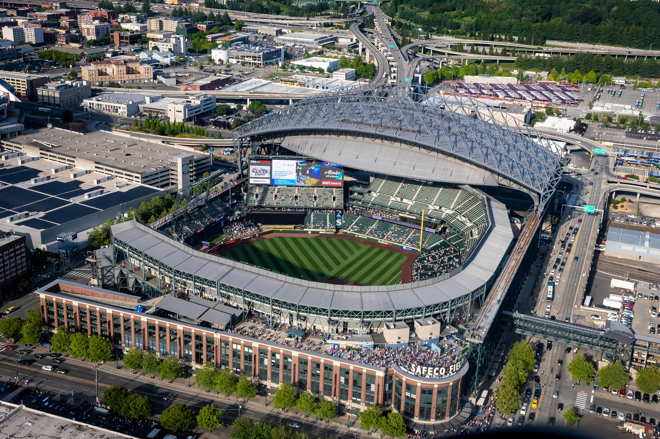 T-Mobile Park Aerial View