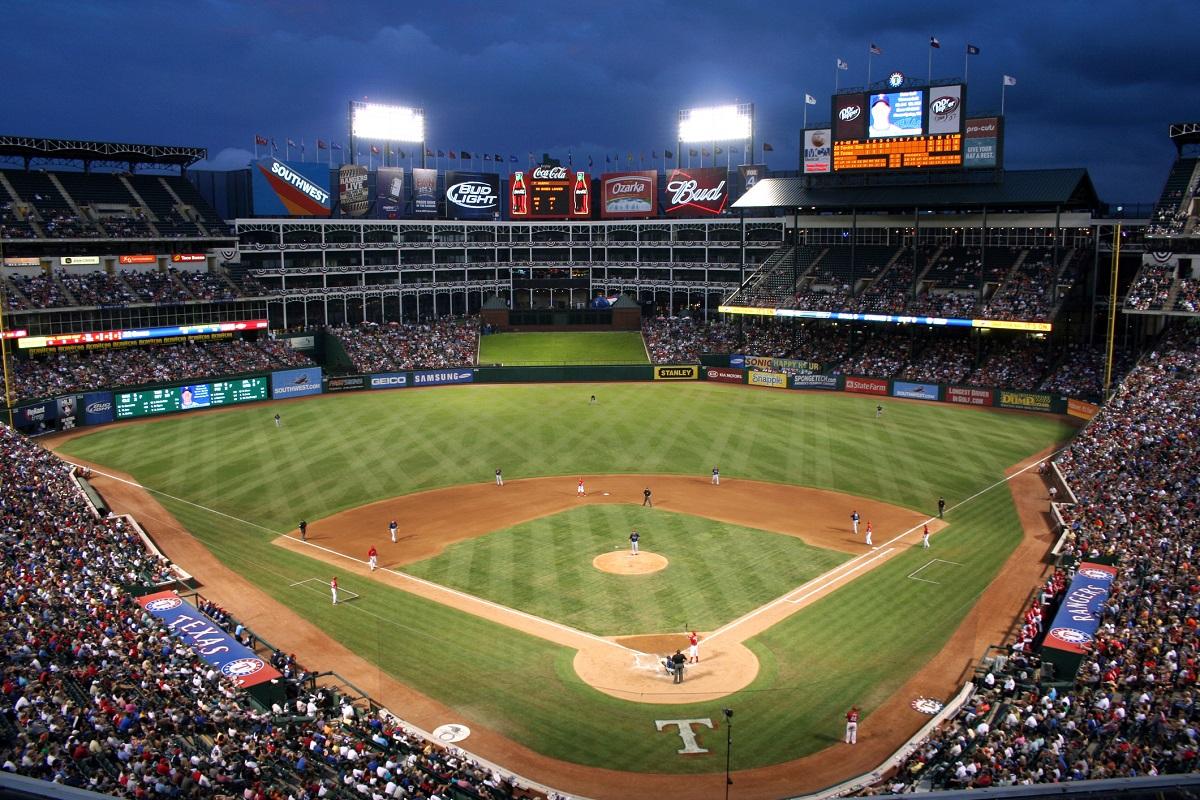 Texas Rangers Ballpark Globe Life Park