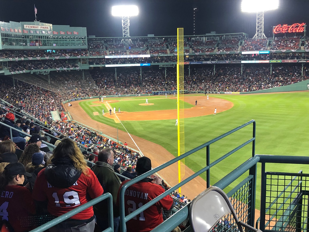 Budweiser Seats at Fenway Park