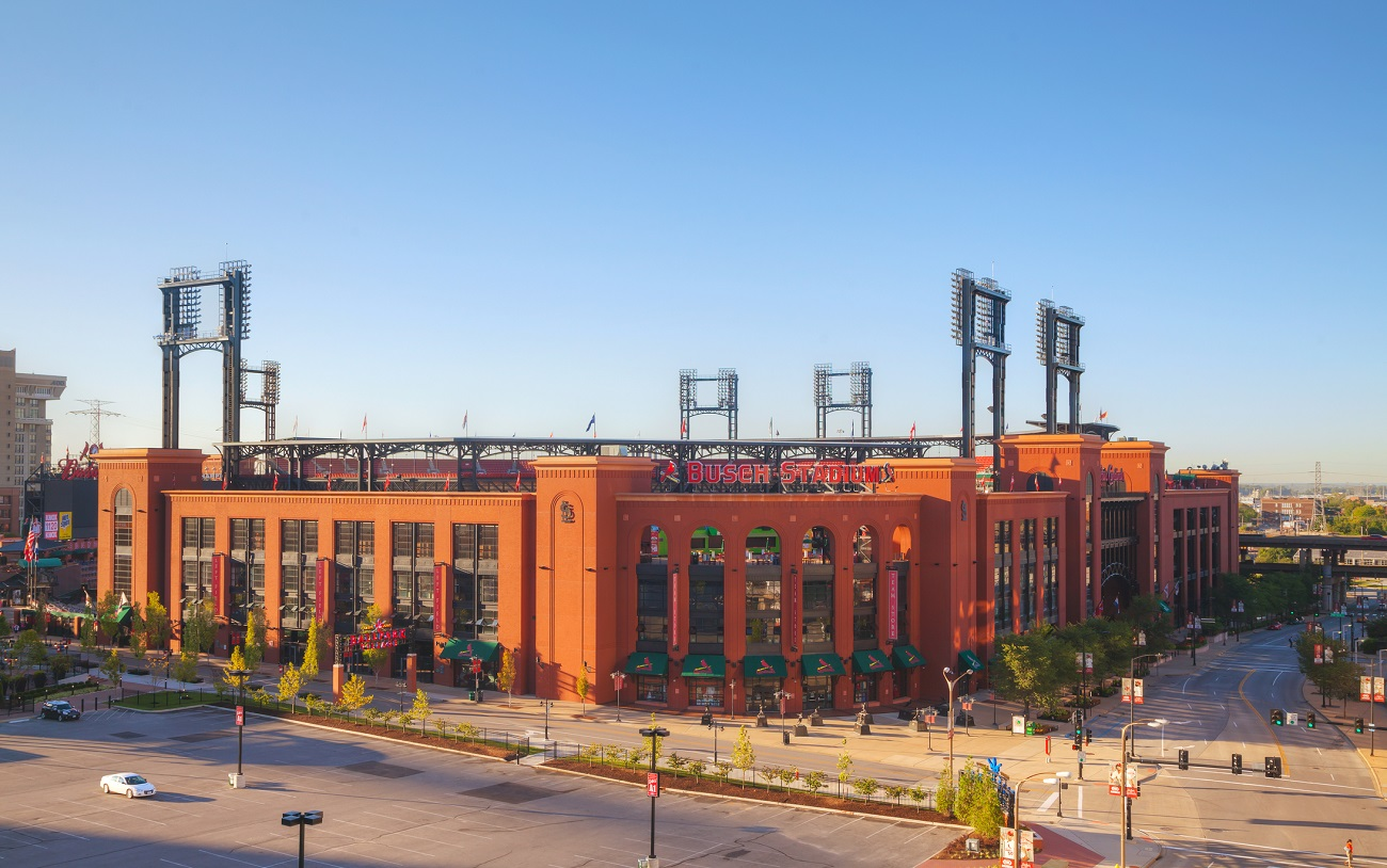 Busch Stadium Outside View