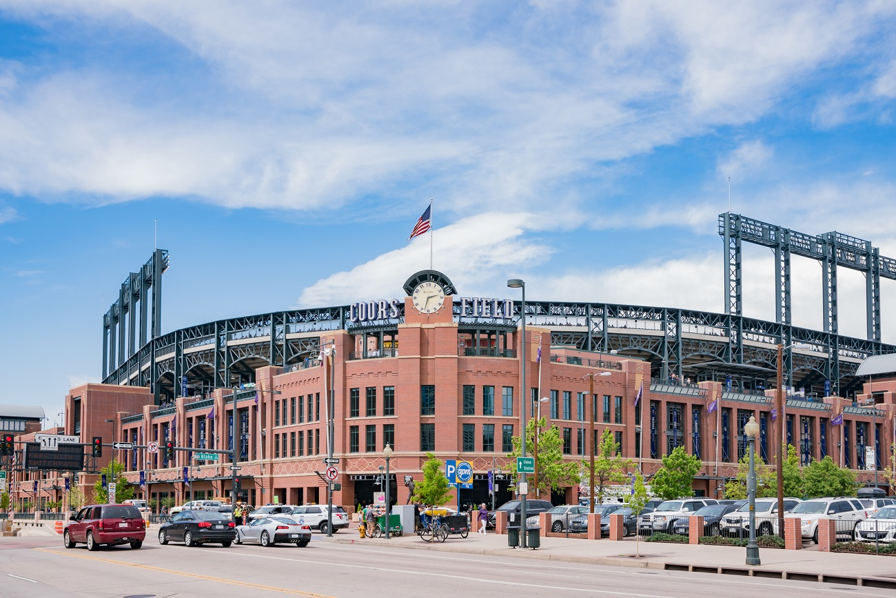 Coors Field Outside View