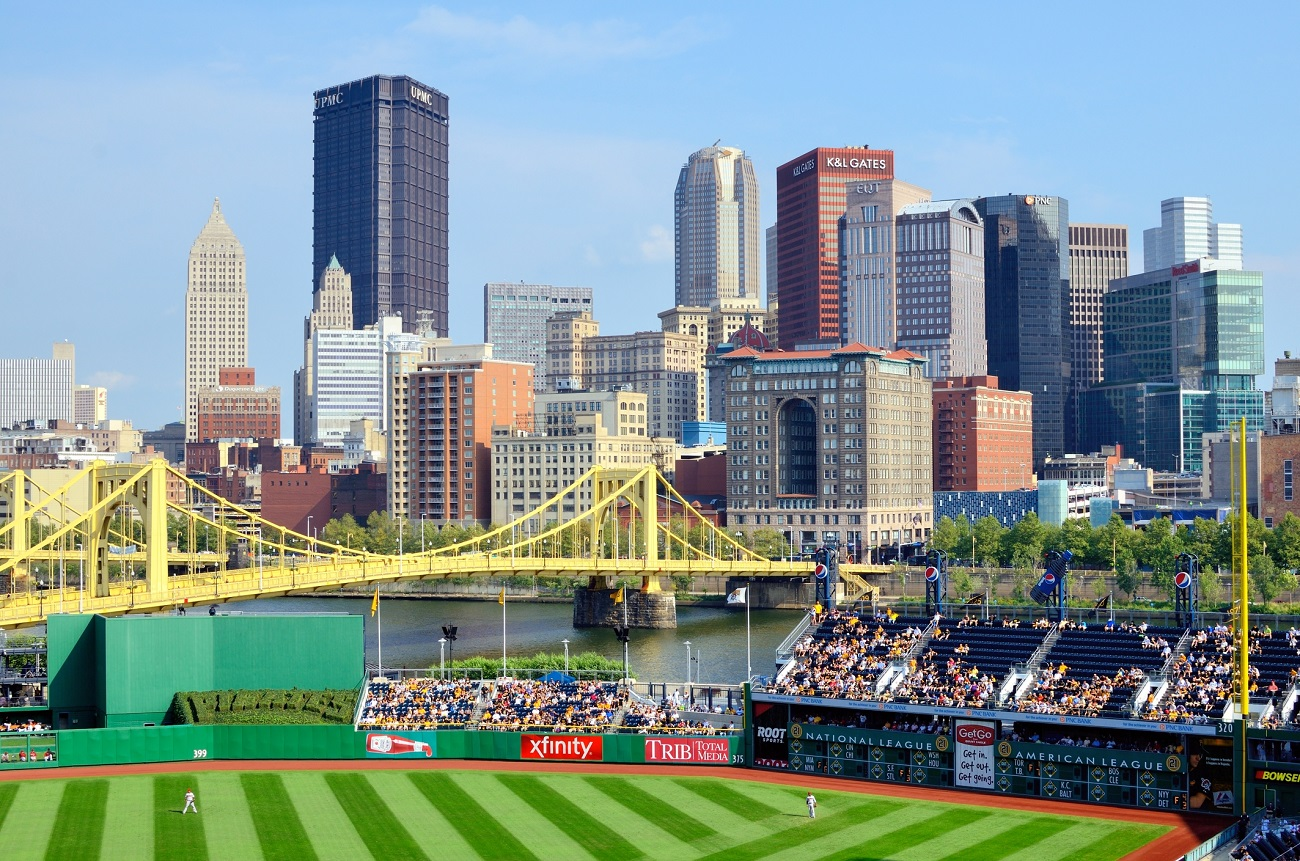 downtown pittsburgh pnc park