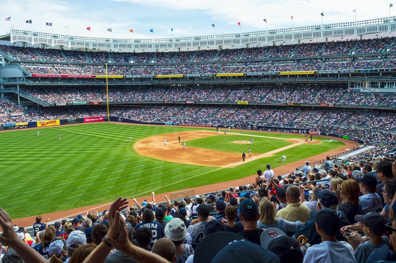 New Yankee Stadium Crowded Red Sox vs Yankees