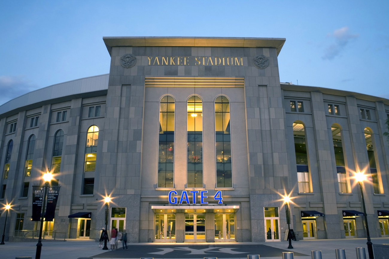 New Yankee Stadium Outside
