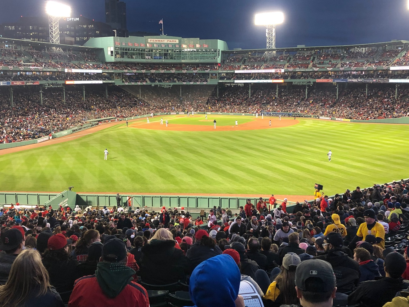 Night Game at Fenway Park