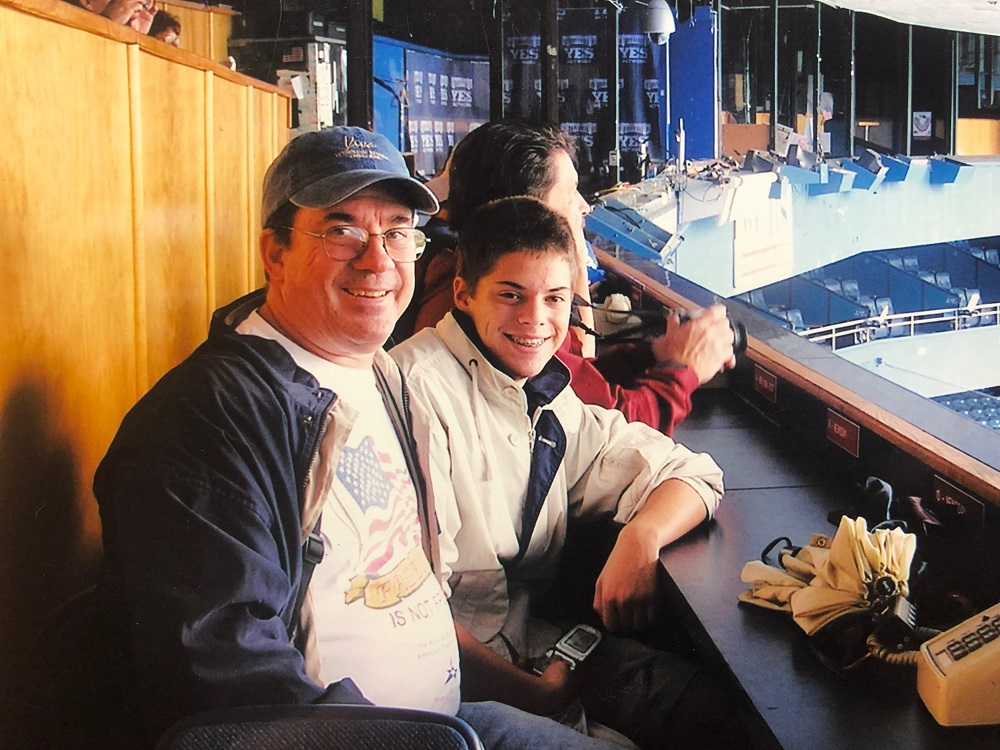 Old Yankee Stadium with my Dad