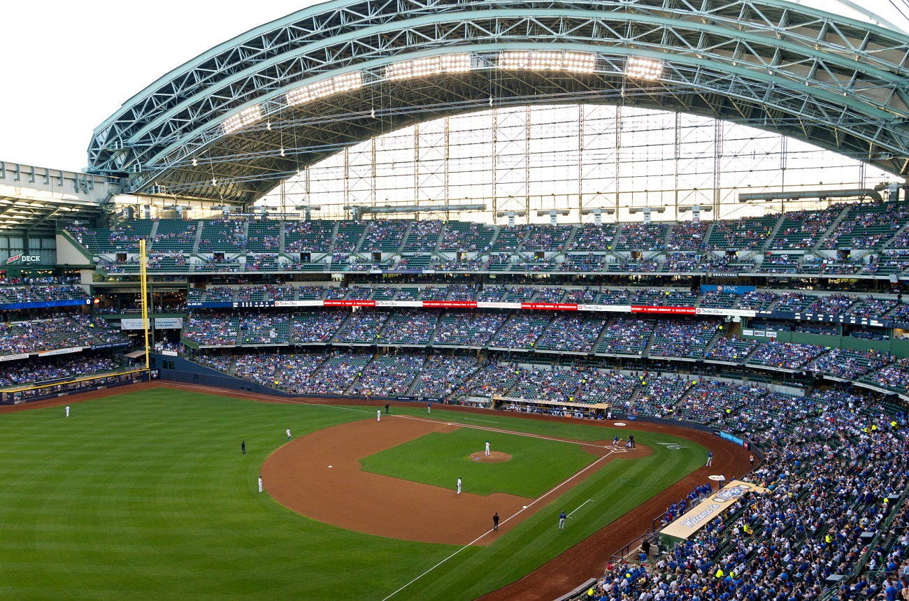 Open Roof at Miller Park