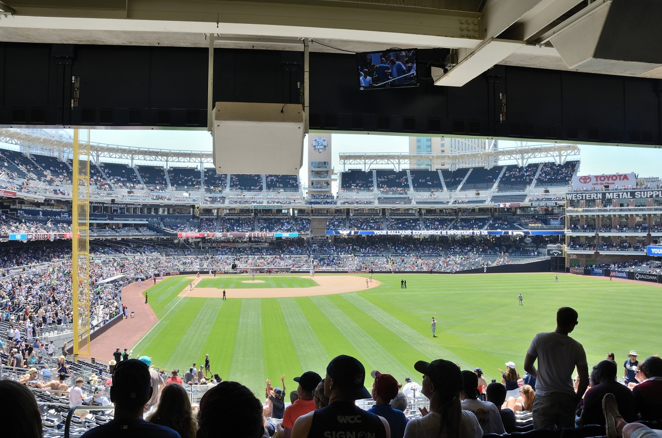 Petco Park Right Field Seats Looking at Home Plate