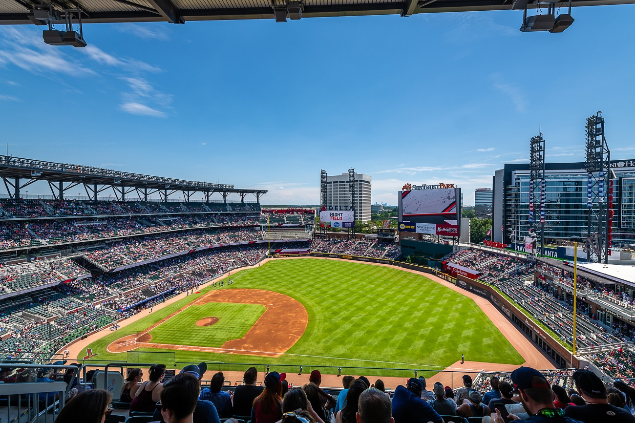 SunTrust Park View from the Upper Deck