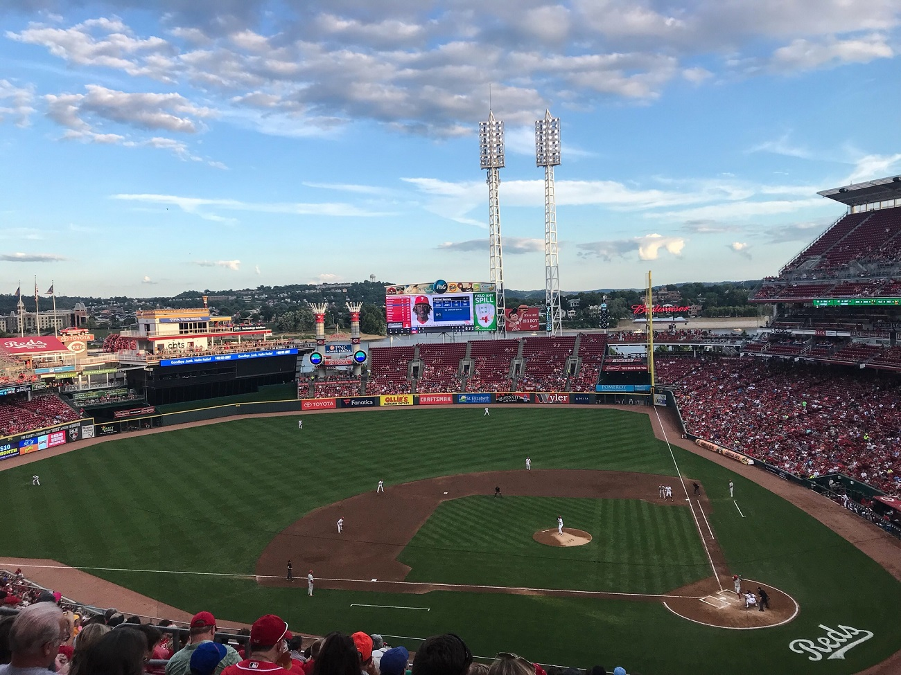 The Great American Ballpark Upper Deck View