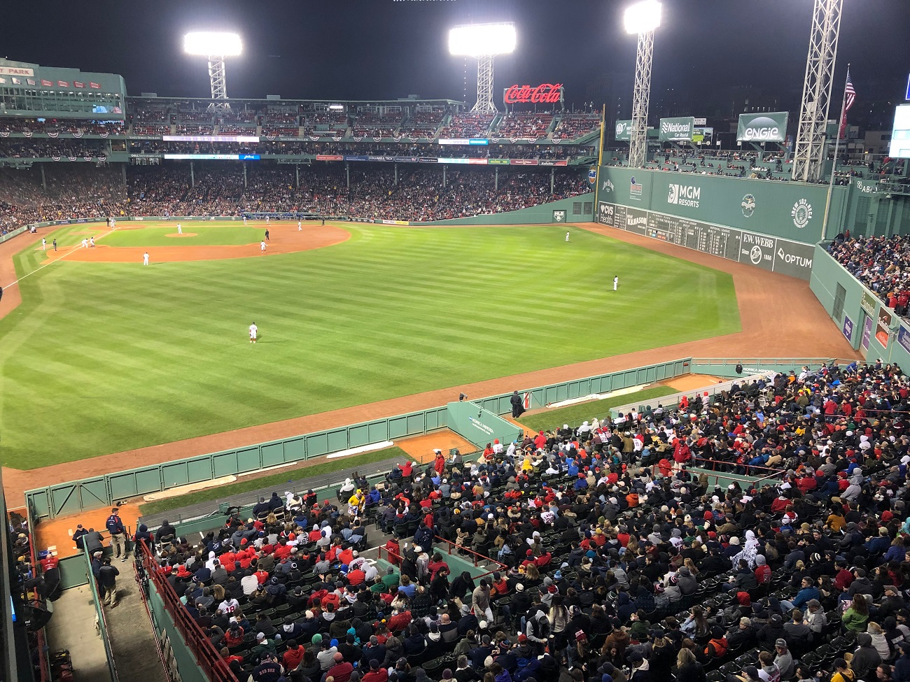 Upper View of Fenway Park