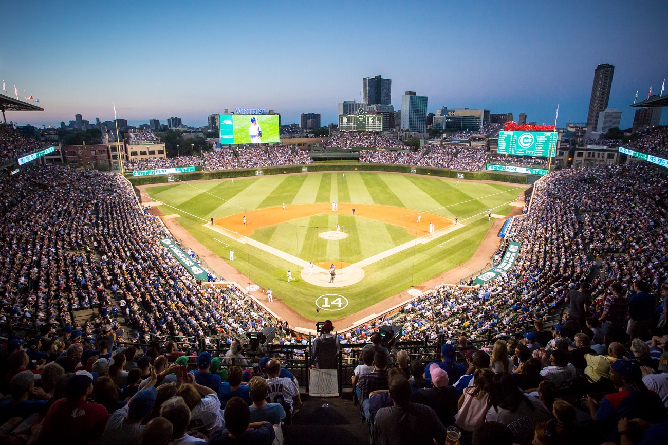 Wrigley Field Home of the Cubs