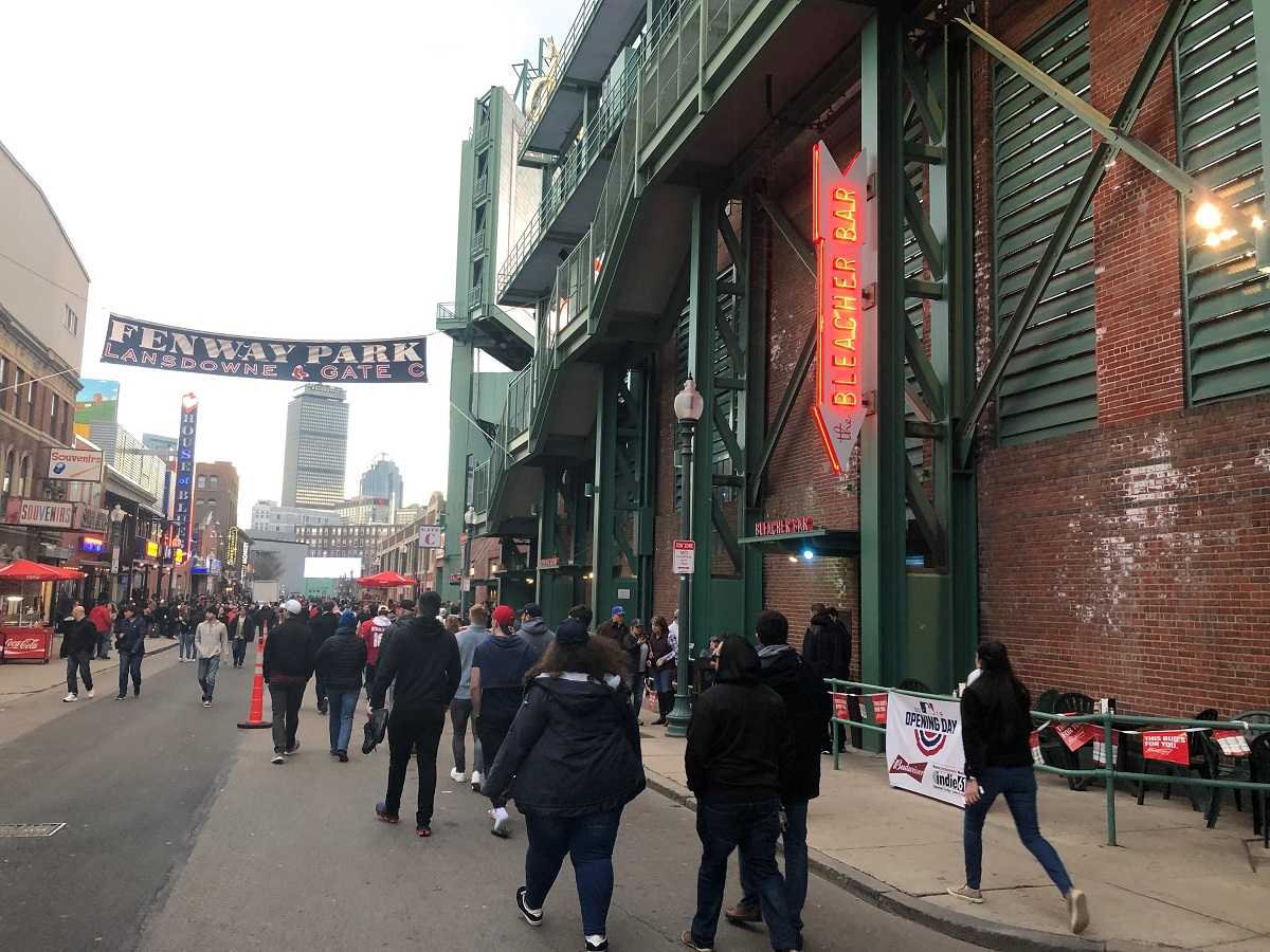 Bleacher Bar at Fenway Park