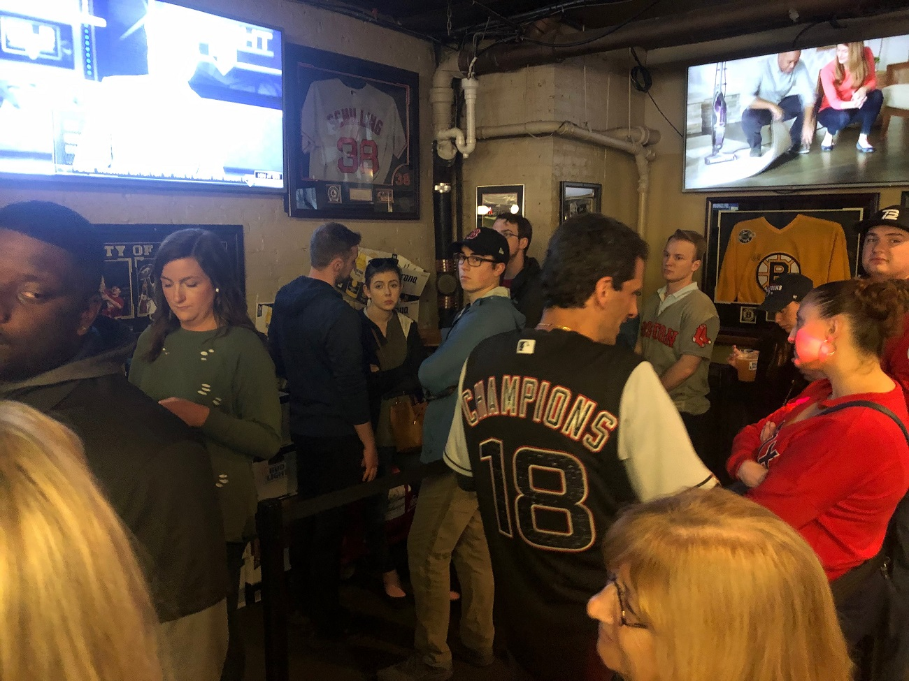 The Baseball Tavern in Boston