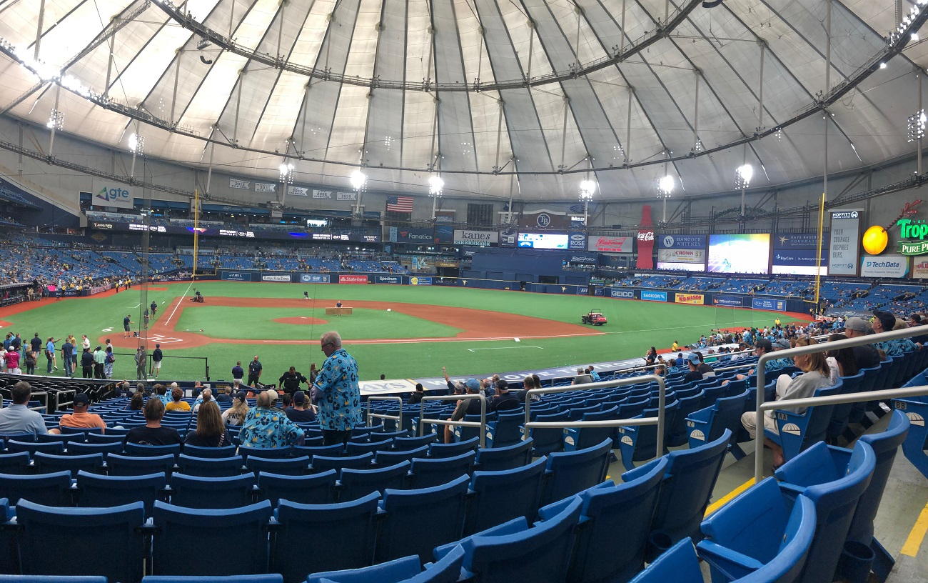 Tropicana Field Game Day