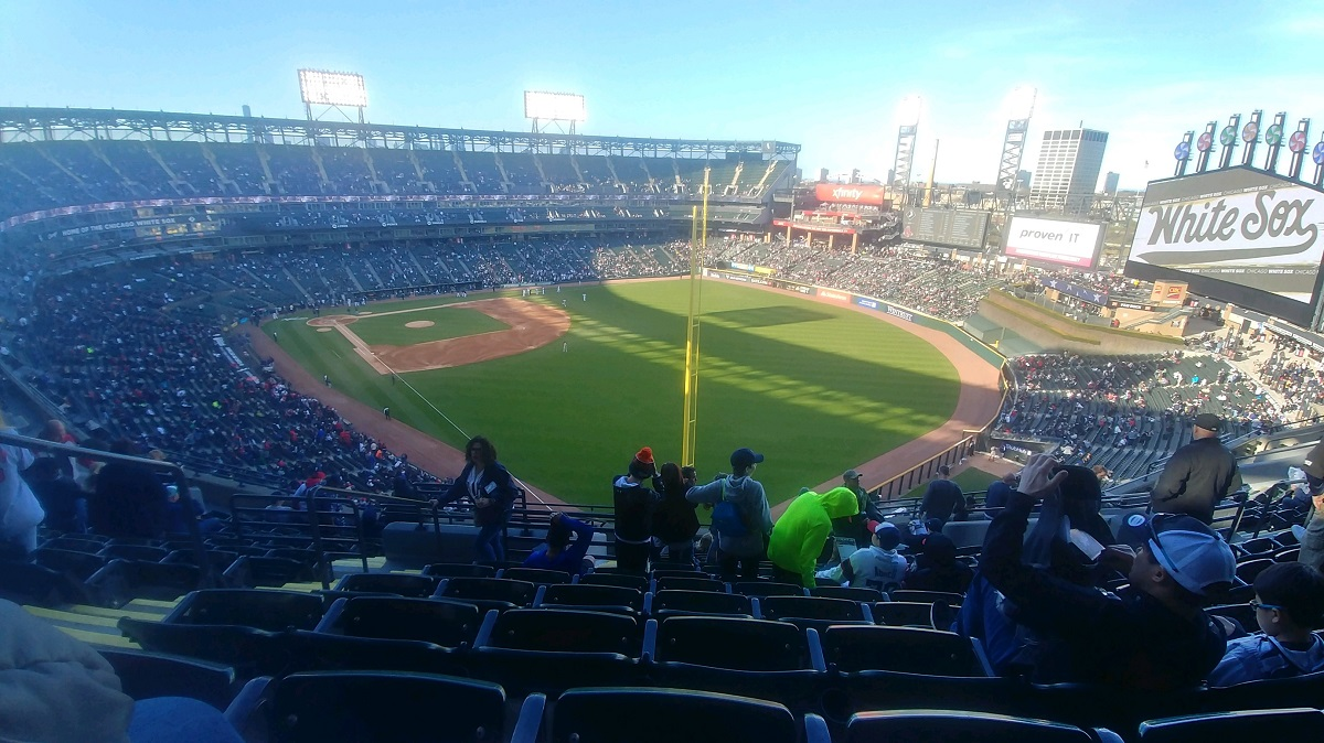 White Sox Stadium in the Upper Deck