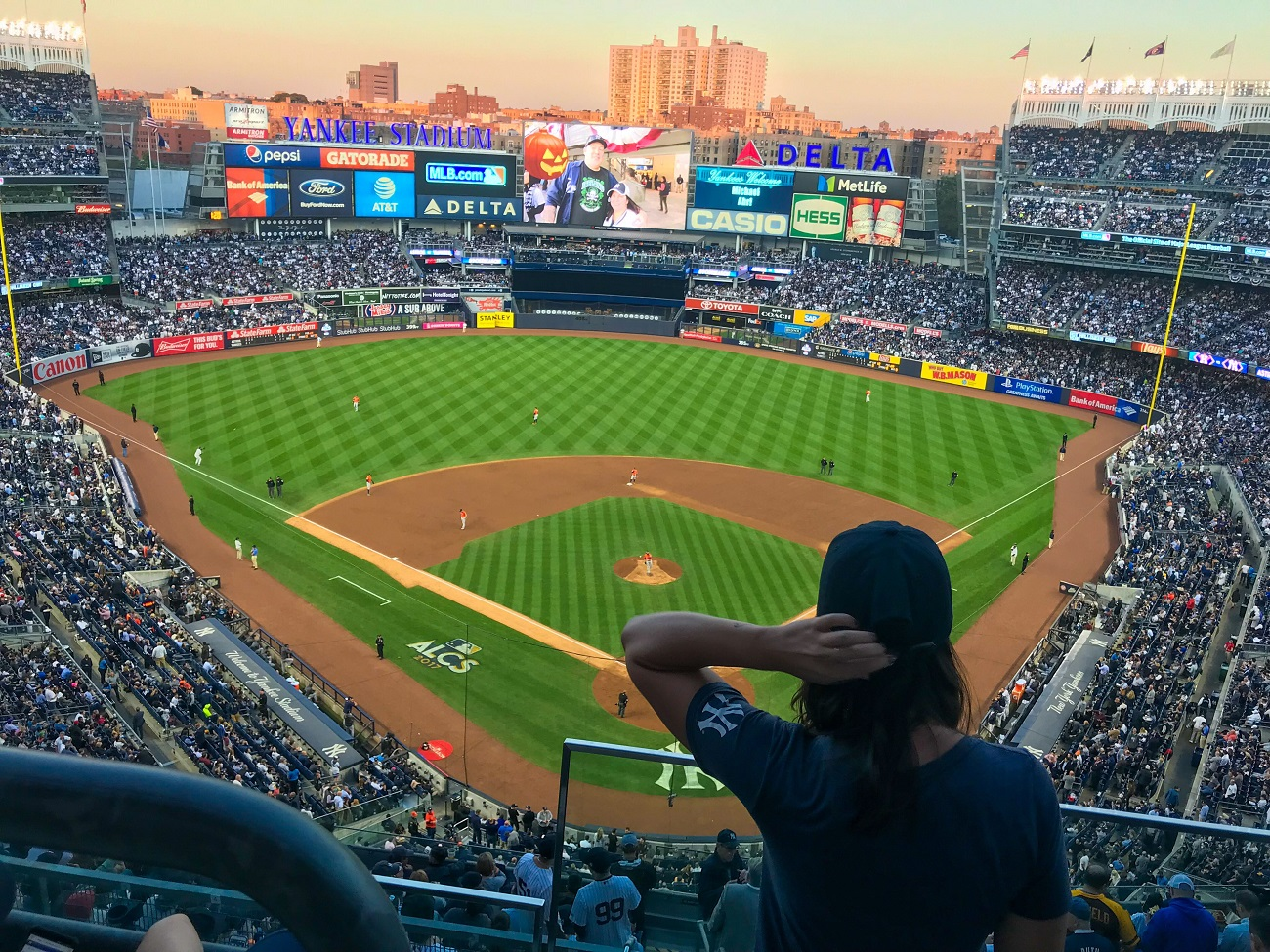 Yankee Stadium from the Upper Deck