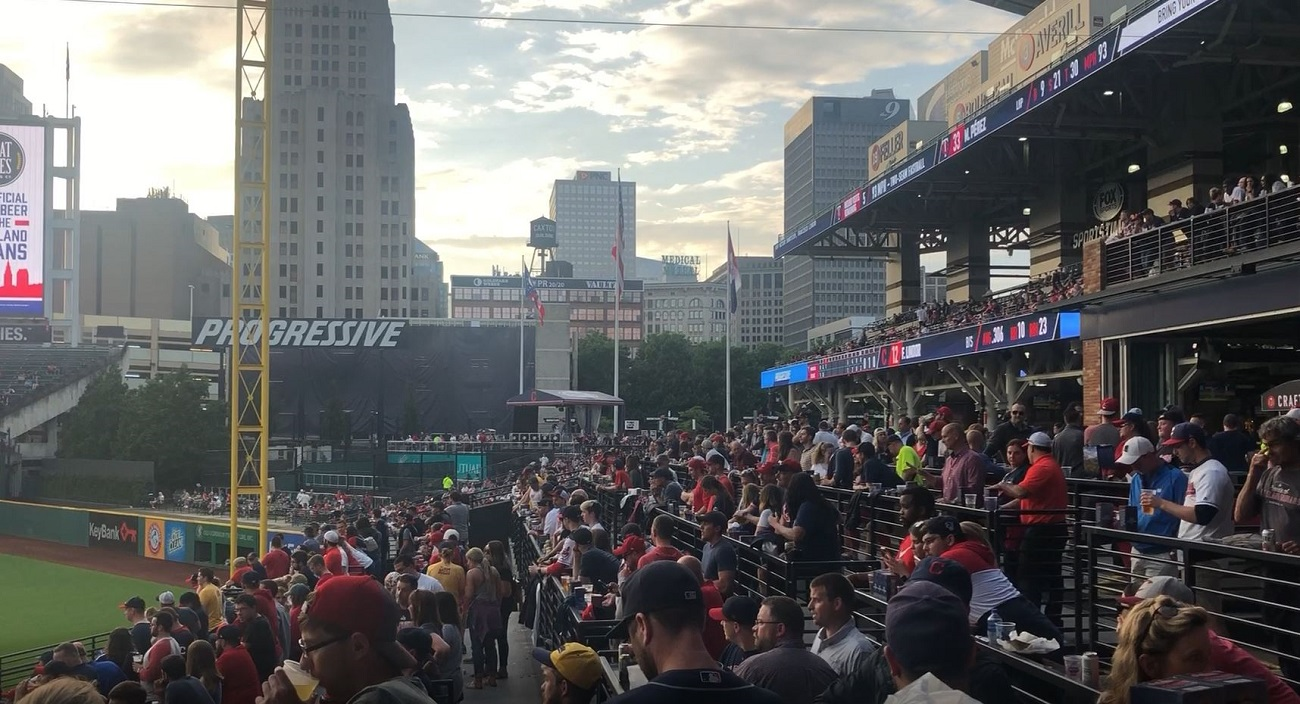 Best Place to Watch the Game at Progressive Field