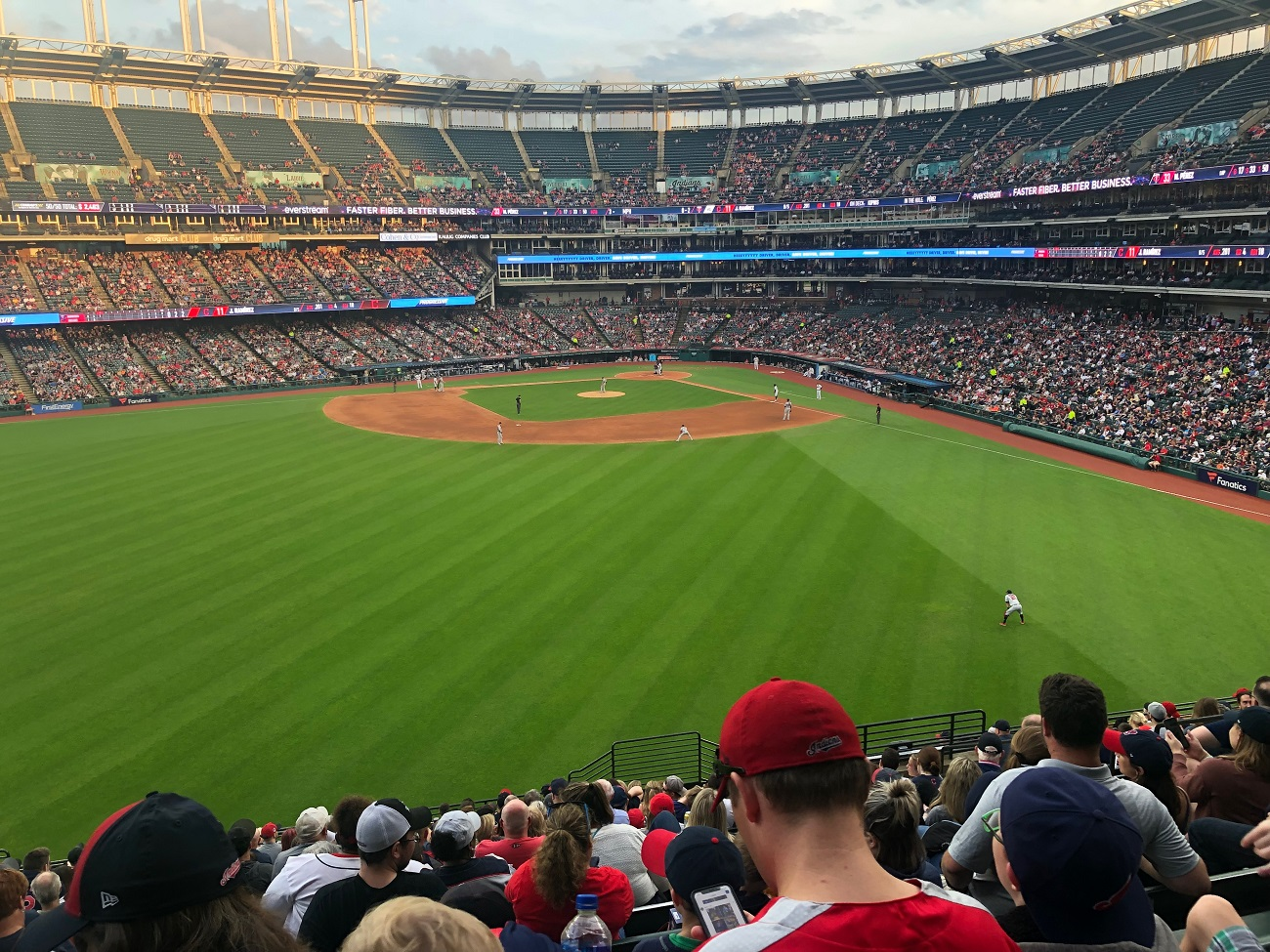 Bleacher View at Progressive Field