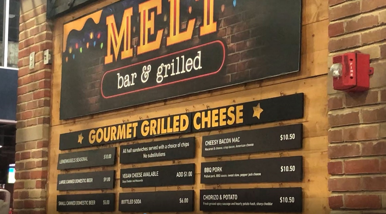 Melt Bar and Grilled at Progressive Field