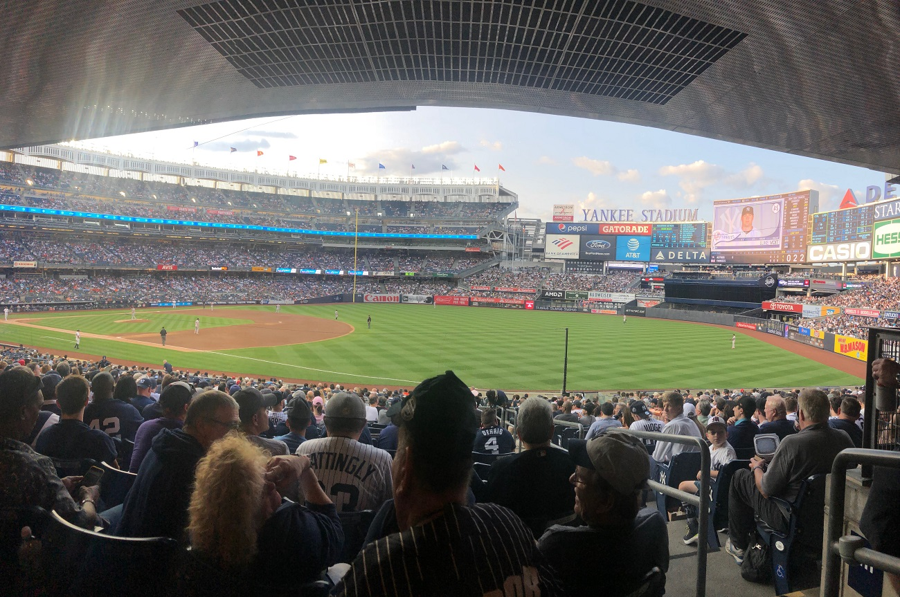 New Yankee Stadium Panoramic View Lower Level