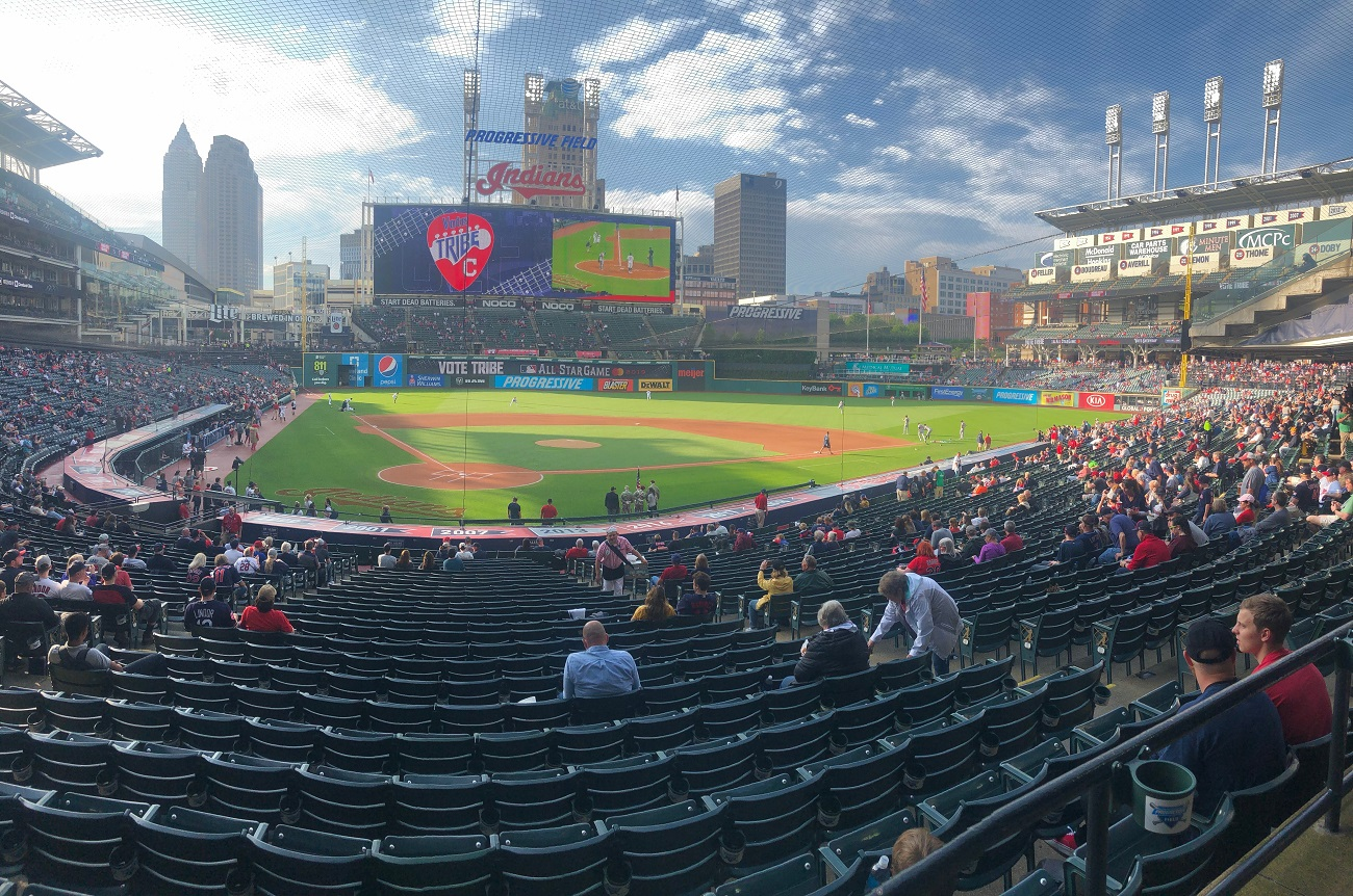 Panoramic View of Progressive Field