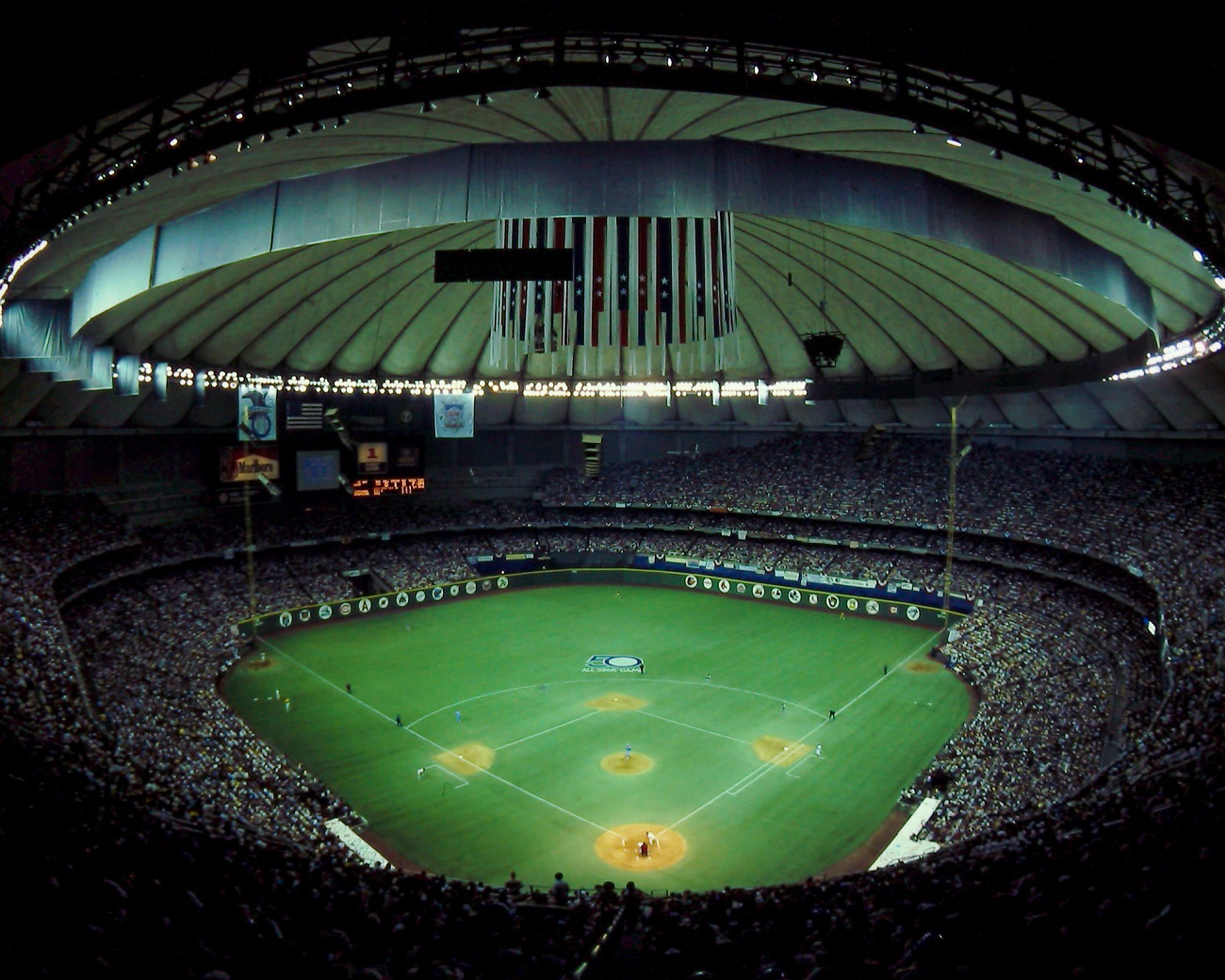 Seattle Kingdome Stadium