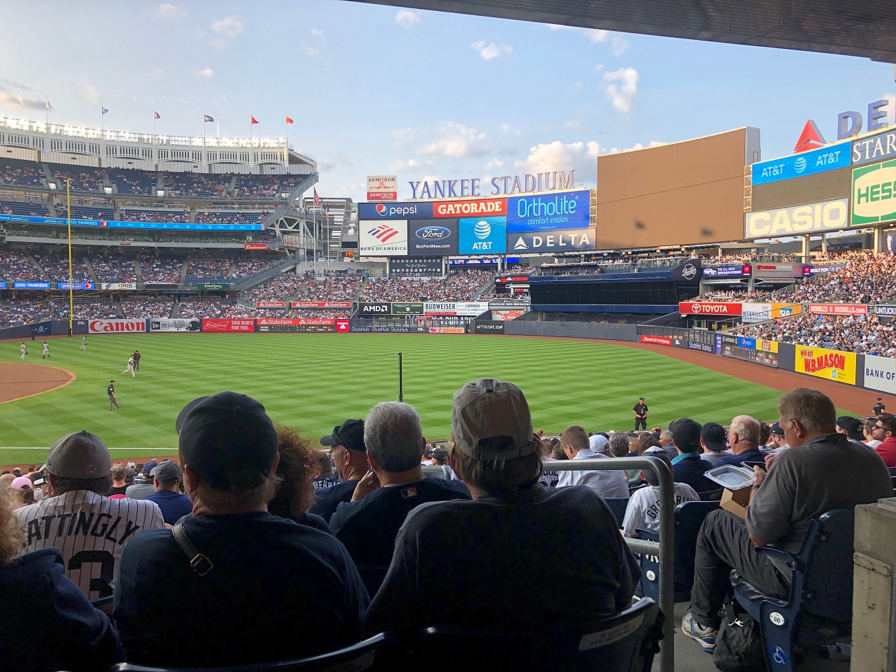 Section 112 at Yankee Stadium