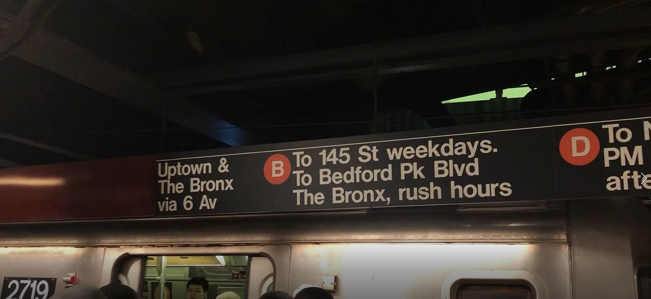Taking the D Train to Yankee Stadium