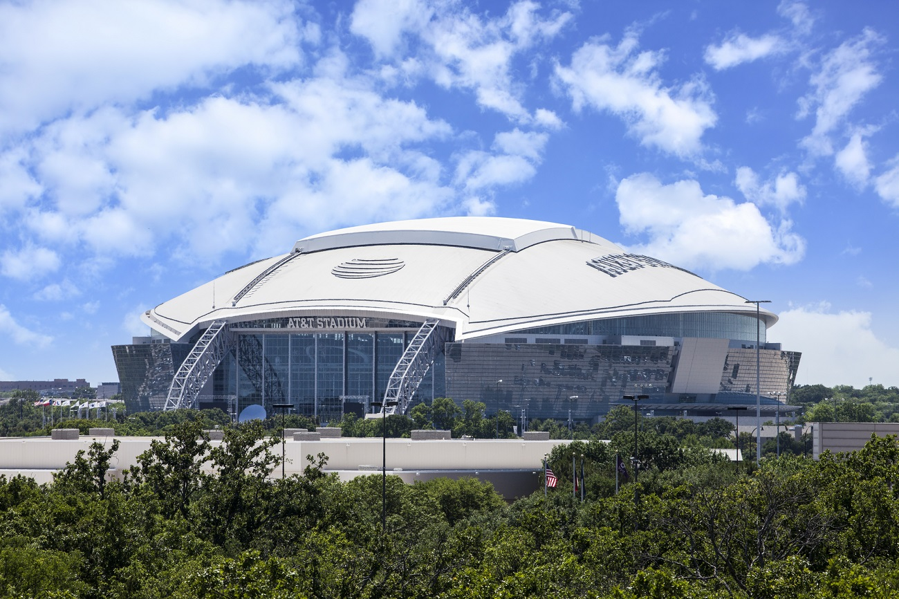 Outside AT&T Stadium