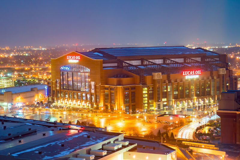 Lucas Oil Stadium is a home to Indianapolis Colts