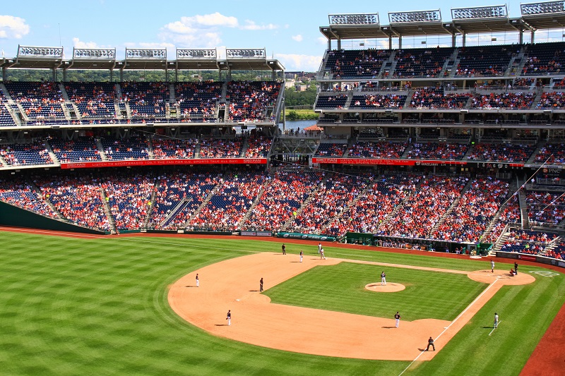 Nationals Park Upper Deck