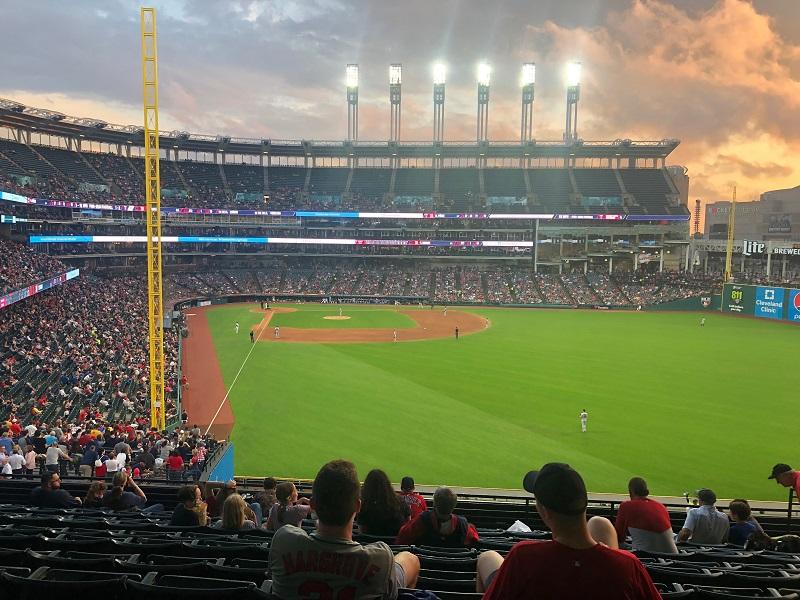 Progressive Field Cleveland Indians Baseball Game