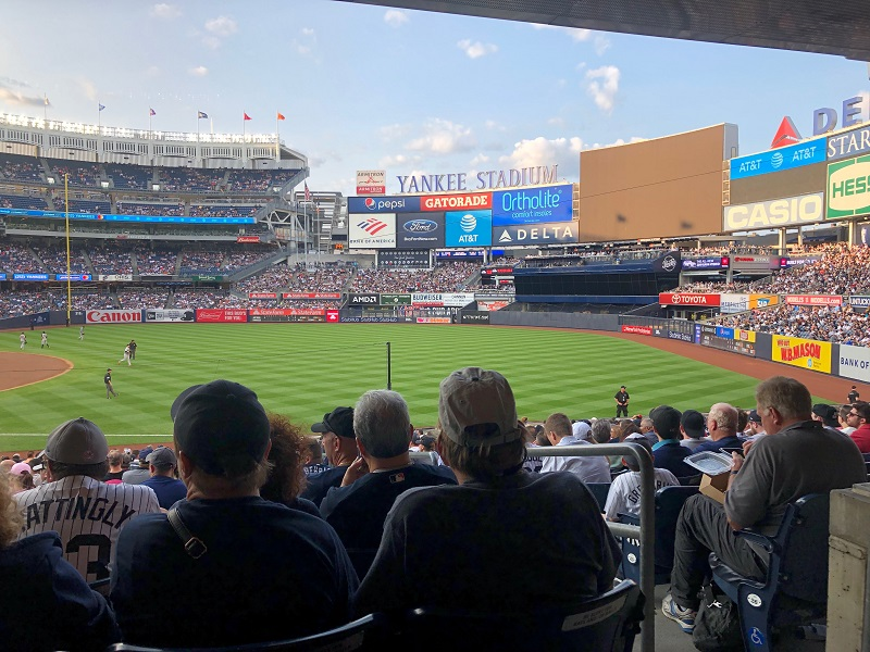 Section 112 at Yankee Stadium