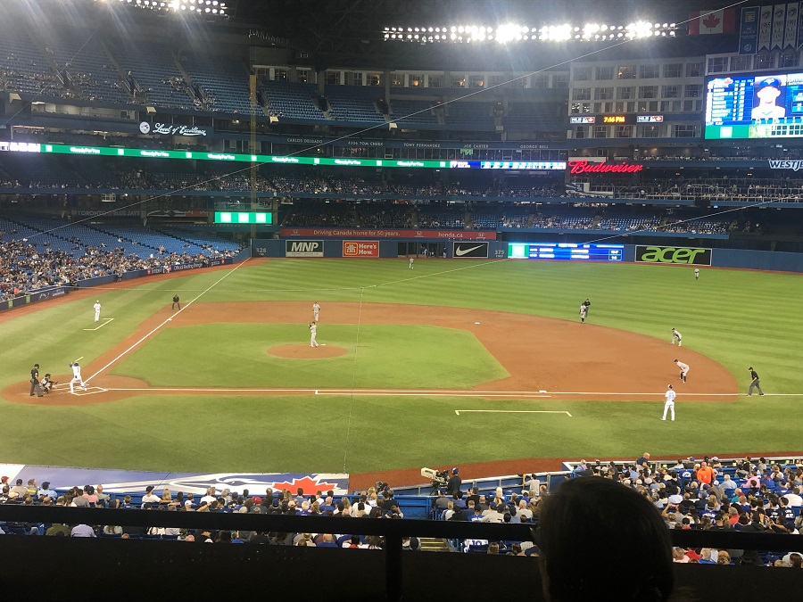 200 Level at Rogers Centre View