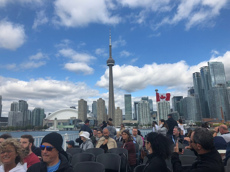 Downtown Skyline of Toronto from the Water