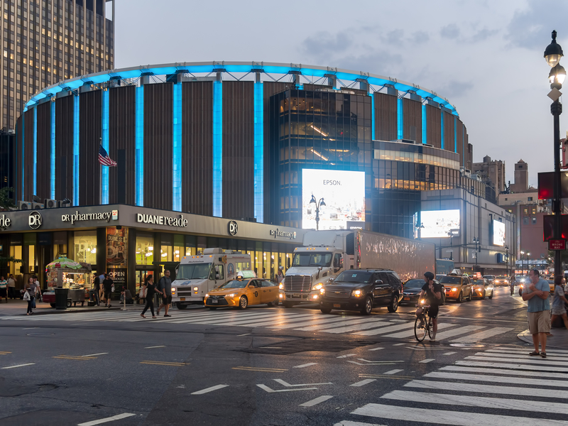 Madison Square Garden Parking