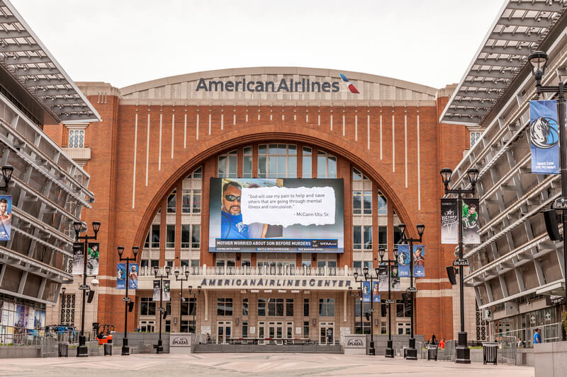 American Airlines Center Parking