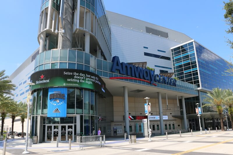 Amway Center Parking